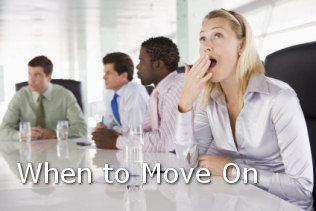 when to move on