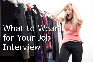 what to wear at the job interview
